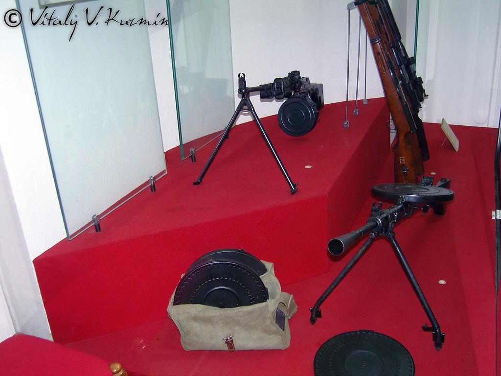 Оружие конструкции В.А. Дегтярева (Degtyarev's weapons)