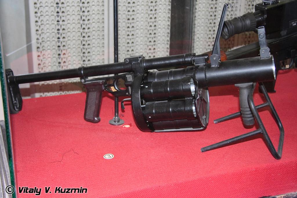 Ручной гранатомет 6Г30 (Grenade launcher 6G30)