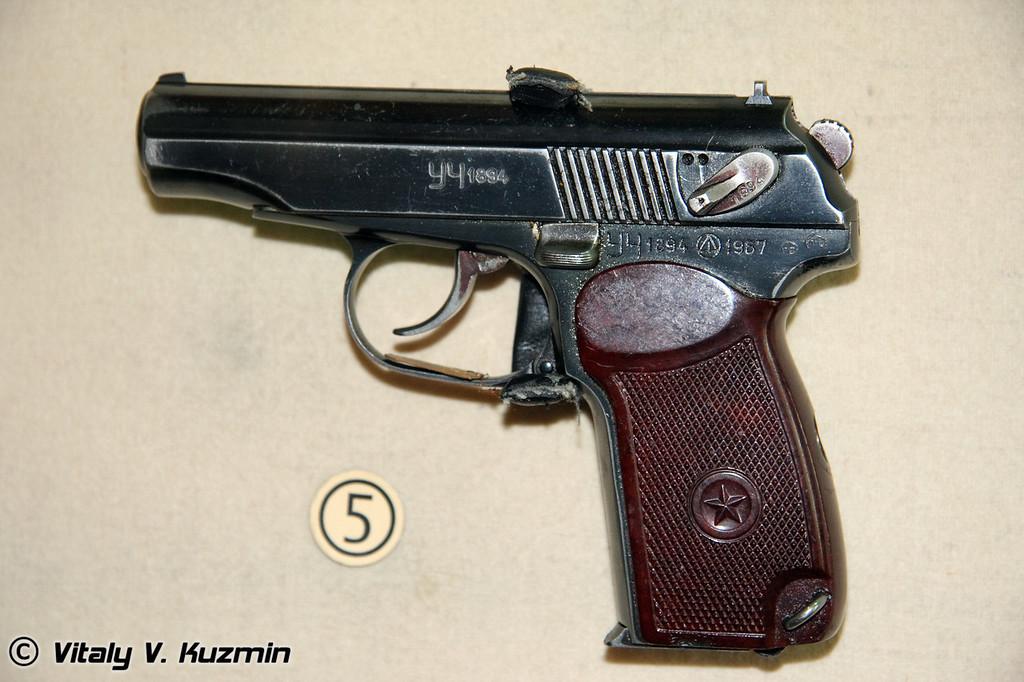 Пистолет ПМ (Makarov Pistol PM)