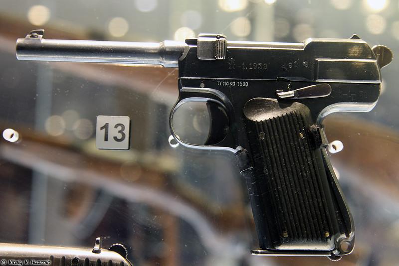 Пистолет Токарева опытный образец 1939 г. (Tokarev pistol prototype 1939)