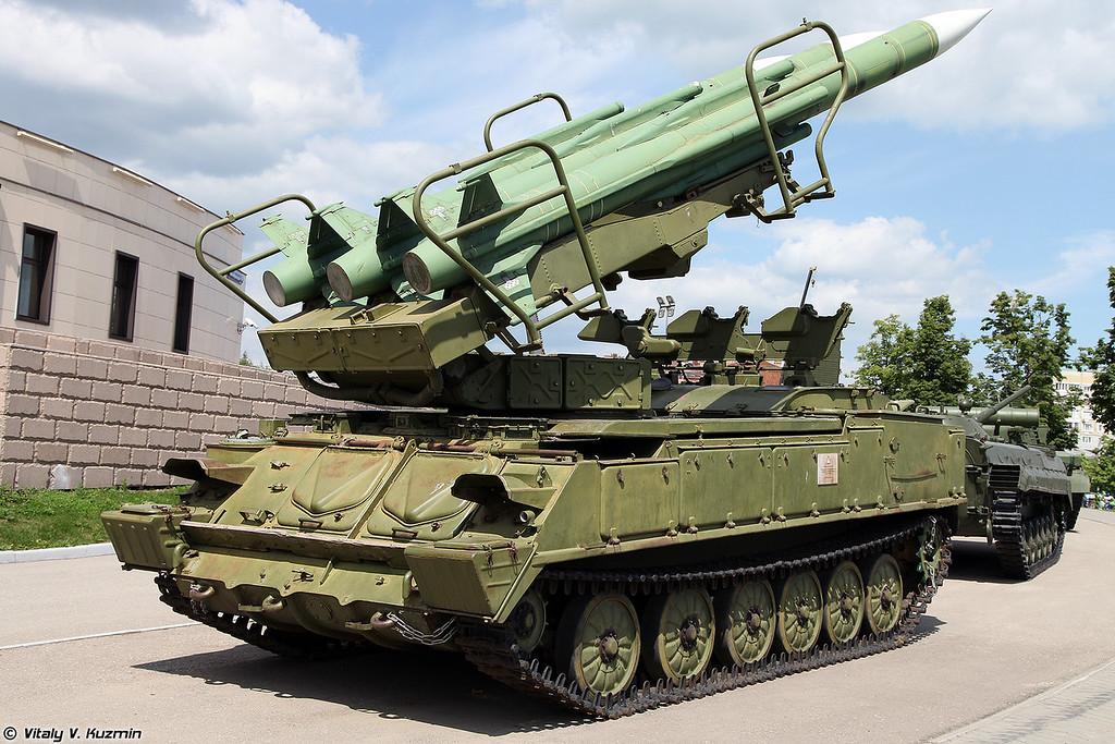 Самоходная пусковая установка 2П25М1 ЗРК Куб-М1 (2P25M1 TEL from Kub-M1 air defence system)
