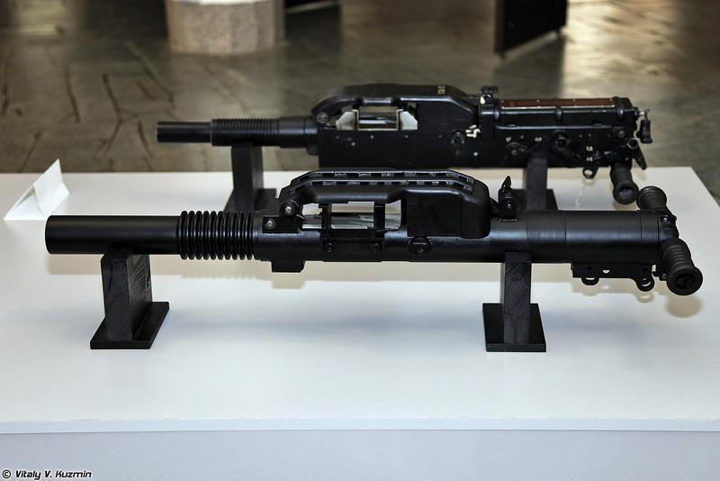 Автоматические гранатометы 6Г28 и 6Г26 (6G28 and 6G26 automatic grenade launchers)
