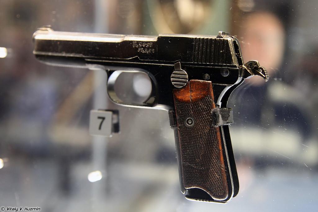 Пистолет Прилуцкого опытный образец 1927 г. (Prilutskiy pistol prototype 1927)