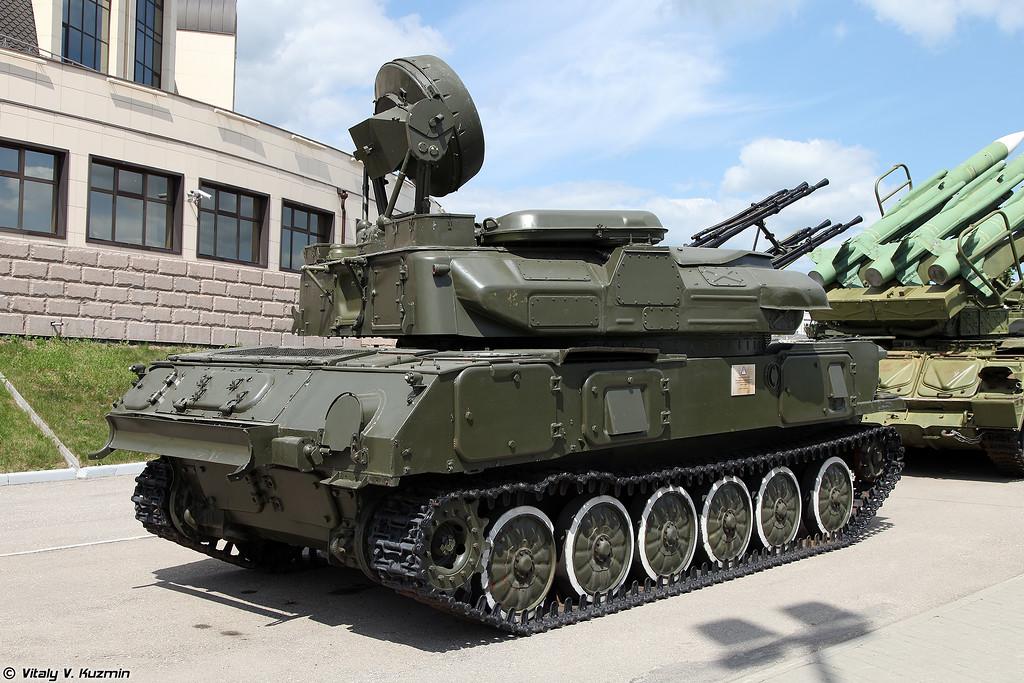 Зенитная самоходная установка ЗСУ-23-4М Шилка (ZSU-23-4M Shilka)