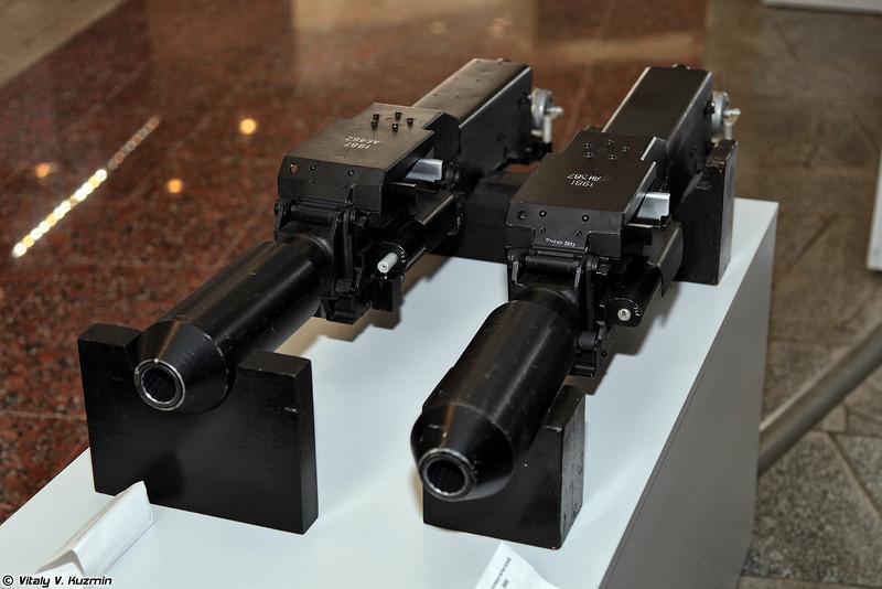 Гранатометы автоматические авиационные 9А-800 и АП-30 Пламя-А (Automatic aviation grenade launchers 9A800 and AP-30 Plamya-A)