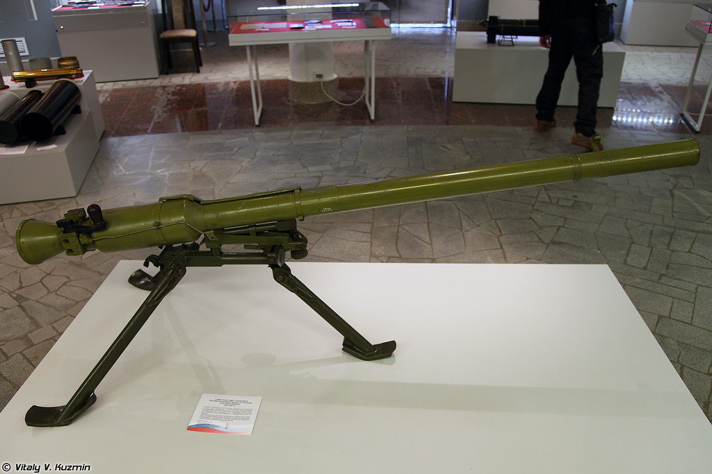 Противотанковый станковый гранатомет ТКБ-592 (TKB-592 grenade launcher)