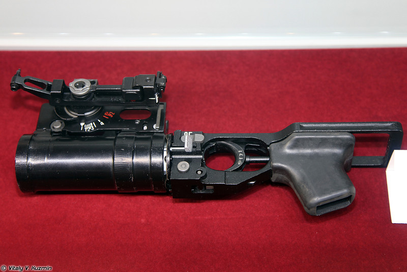 ГП-25 (GP-25 grenade launcher)