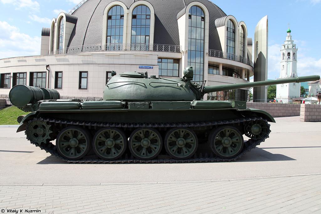 Танк Т-55А (T-55A tank)
