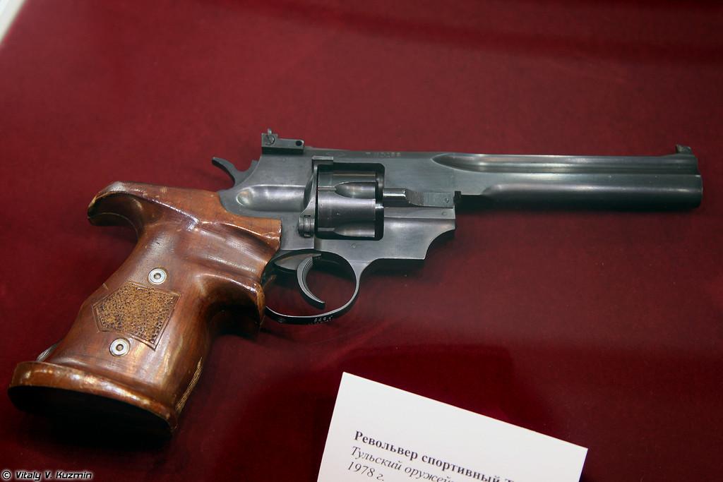 Спортивный револьвер ТОЗ-49 (TOZ-49 sport revolver)