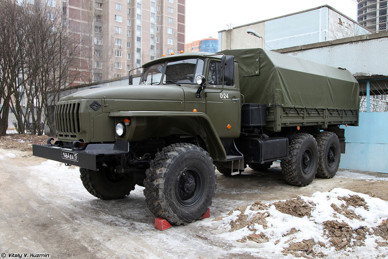 Урал-4320 из ОДОНа (Ural-4320 from ODON division)
