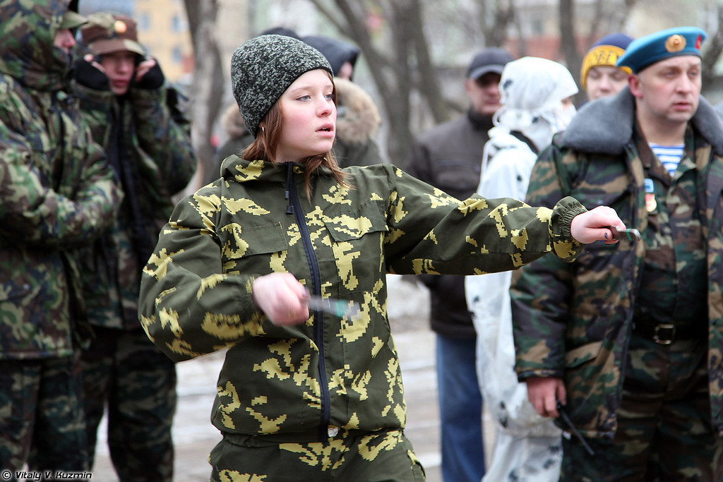 Молодежный военно-патриотический турнир 2014 (Youth military-patriotic tournament 2014)