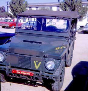5 th Div jeep