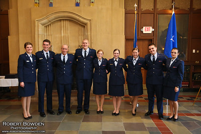 U of M AFROTC Commissioning Spring 2013
