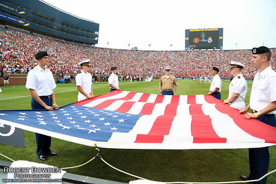 U of M ROTC at Manchester United vs. Real Madrid - Guinness International Champions Cup