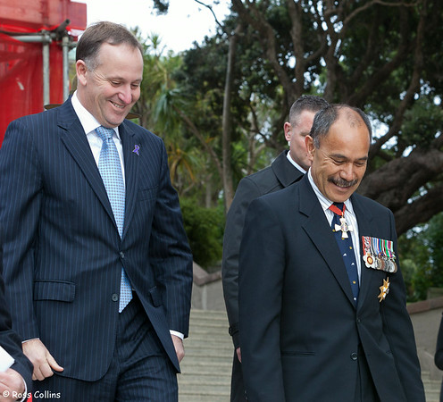 70th anniversary of the arrival of US Forces in New Zealand in WWII, National War Memorial, Wellington, 14 June 2012