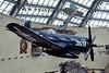 World War 2, US Marine Corps museum, Triangle, Virginia, 22 May 2017 11.  Vought F4U-4 Corsair fighter 97369.