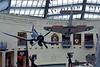 World War 2, US Marine Corps museum, Triangle, Virginia, 22 May 2017 8.  Douglas SBD-3 Dauntless dive  bomber 06583 & Vought F4U-4 Corsair fighter 97369.