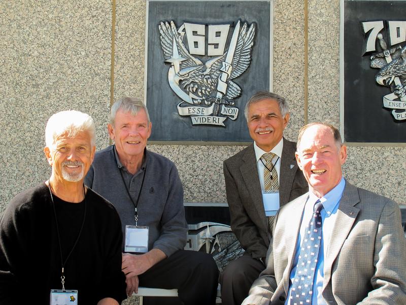 Wayne Warren, Frank Countryman, Marty Cavato, Dave Spencer--17th SQDN 1965-1967.