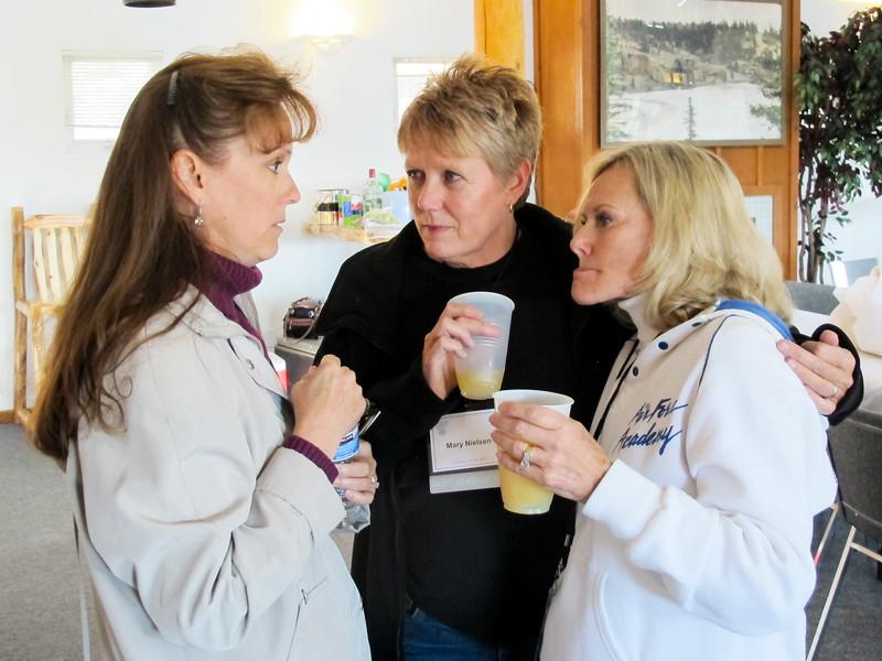 Cindy Cavato, Mary Nielson, Pam Jones