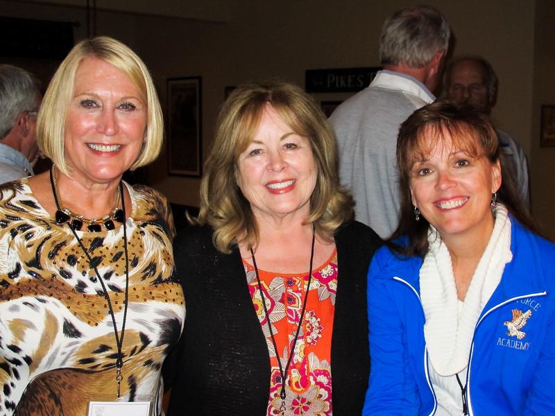 Debbie Spencer, Nikki Warren, Cindy Cavato
