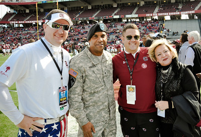 USC Salute to the Military 2012