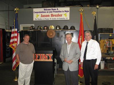 USMC/FDNY_Jason Brezler Promotion to Major 6/18/10