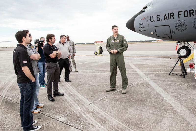 USO NASCAR McDill Air Force Base