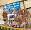 "Actors Terry Serpico, Sally Pressman andBrian McNamara of Lifetime's top-rated drama ""Army Wives"" ride with Port Security Unit 305, U. S. Coast Guard of Fort Eustis, Virginia in Guantanamo Bay, Cuba as part of USO/Armed Forces Entertainment tour December 12-16."