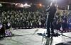 David Cook, 2008 American Idol winner and his band. Camp Liberty, Iraq.