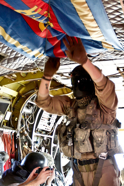 Tuesday, 9 Nov. 2010. FOB Spin Boldak, Afghanistan. Canadian CH-47 helicopter.