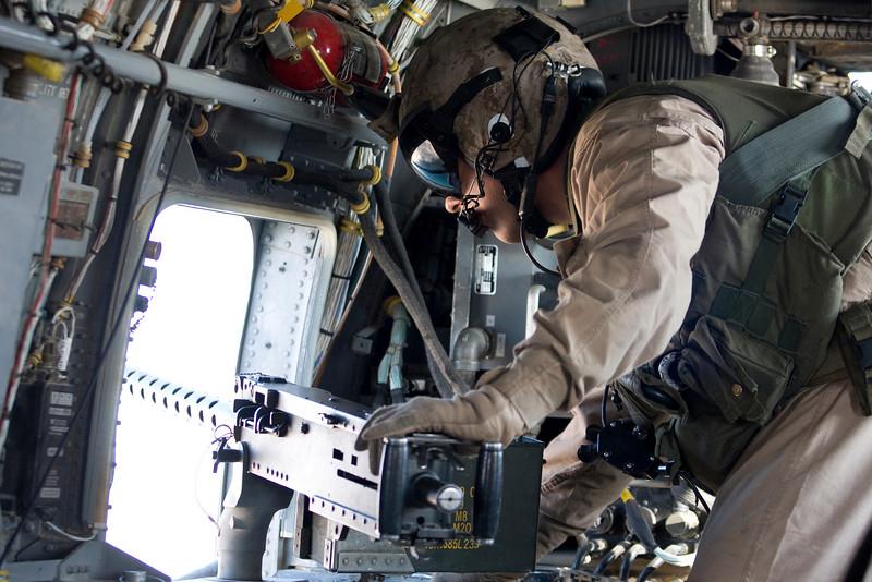 Flying over Iraq. Nov. 2007.