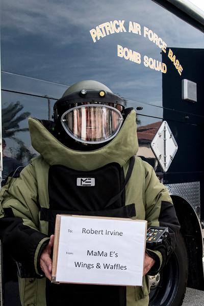 Robert Irvine USO Tour to Patrick Air Force Base