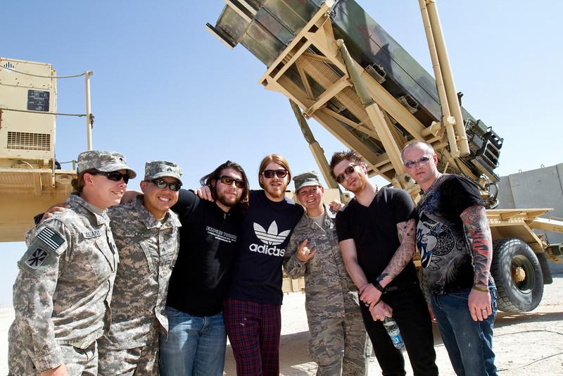 Saving Abel-Visiting a Patriot missile battery.