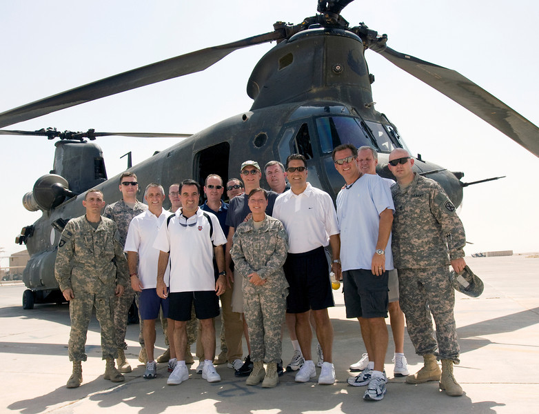Camp Speicher, Iraq USO Operation Hardwood VI