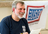 October 23, 2011. Undisclosed location in the Middle-East. National Cartoonists Society brings comic relief and illustration to troops in Germany and Middle-East on annual USO visit. Todd Clark, Paul Combs, Bruce Higdon, Bill Janocha, T. Lewis, John Read III, Debbie Schafer, Rob Smith, Jr., Ed Steckley and Sam Viviano brighten spirits for military personnel. Sam Viviano.