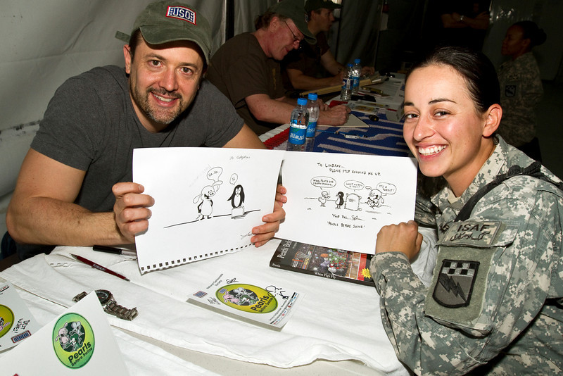 National Cartoonists Society Tour