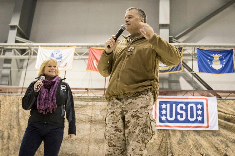 USO Spring Troop Visit