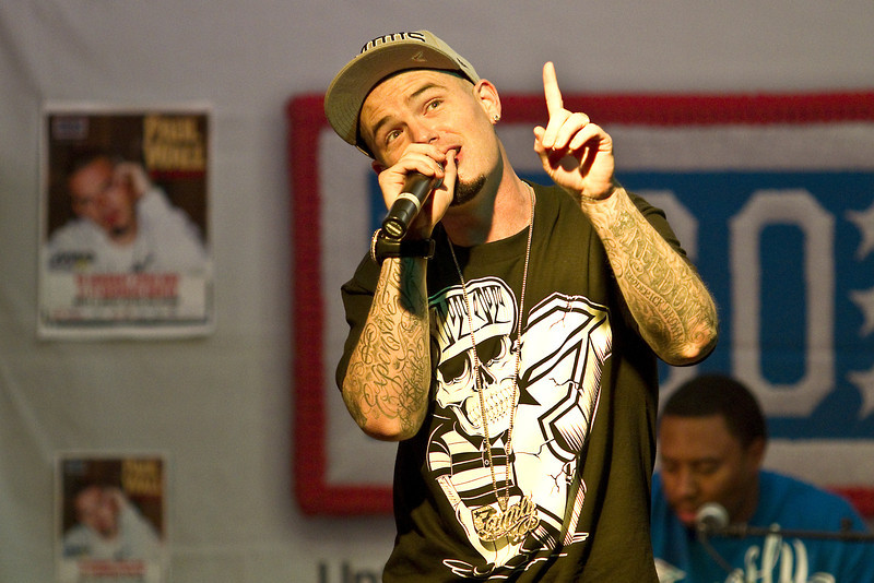 January 19. 2012. Grammy-nominated rapper, Paul Wall visits U. S. troops at an undisclosed military base in the middle east on his fifth USO Tour.