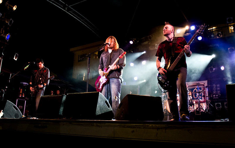 "Members of the South African rock band, ""Seether"" performed for hundreds of military members and their families at Camp Schwab, Okinawa and signed autographs at Camp Foster, Okinawa and Kadena Air Base, Okinawa as part of the USO/Armed Forces Entertainment May 2009 Japan Tour."