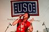 Saving Abel-Jared Weeks-Performing at Camp Arifjan, Kuwait.