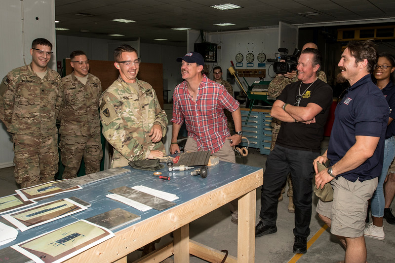 National Guard USO Tour Led by General Frank J. Grass