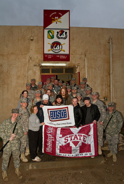 Saving Abel-With members of the Mississippi Army National Guard deployed to Iraq.