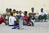 USO NFL Tour. Djibouti.