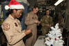 USO Holiday Tour on Christmas Eve