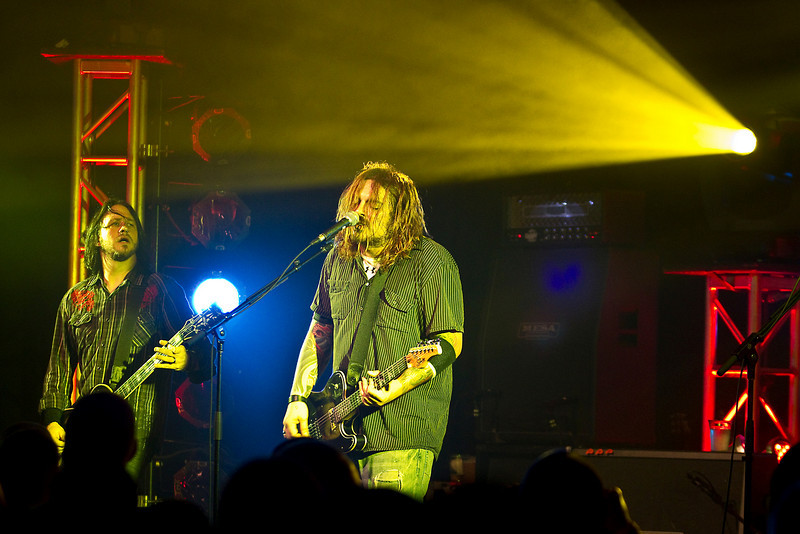 Saturday, December 18, 2010. The band Seether. Schofield Barracks, Hawaii. Over 500 service members and their families enjoyed the show.