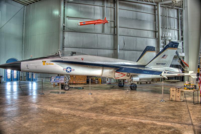 """F-18 and Northrop YF-17 """"Cobra"""" (AF 72-1570)"""