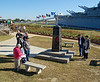 Oblisqe at Entry to the USS Alabama BB-60