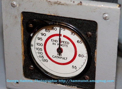 At the catapult control panel, a direct speed readout was provided.