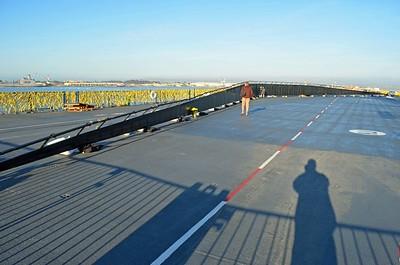Full Length of Wall, some 300 Feet Long