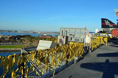 LSO, Landing Signal Officer Platform